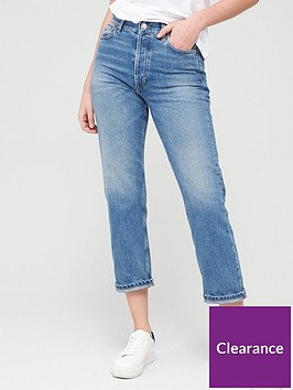 v-by-very-the-high-waist-straight-leg-jean-mid-wash
