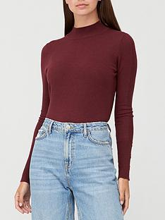 v-by-very-turtle-neck-button-sleeve-detail-jumper