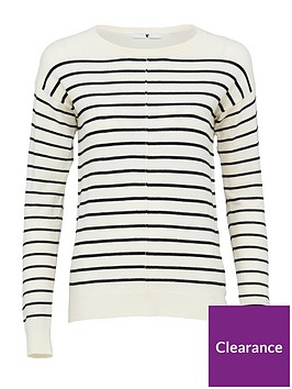 v-by-very-striped-seam-front-detail-button-hem-jumper-ivoryblack