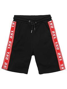 diesel-boys-tape-logo-jersey-short
