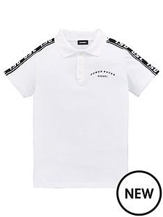 diesel-boys-tape-logo-short-sleeve-polo-white
