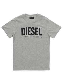 Diesel Diesel Boys Classic Short Sleeve Logo T-Shirt Picture