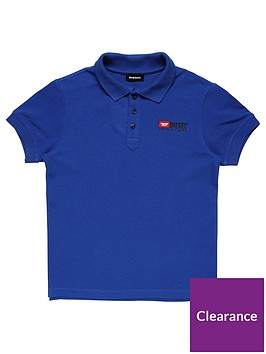 diesel-boys-classic-short-sleeve-polo-blue