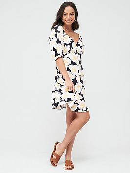 Warehouse Warehouse Nicky Floral Mini Dress - Multi Picture