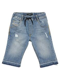 diesel-boys-denim-jog-short