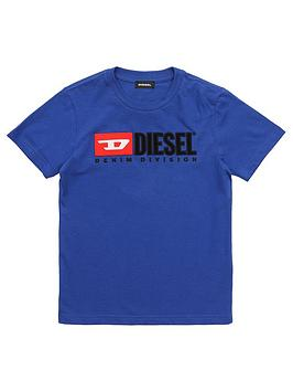 Diesel Diesel Boys Short Sleeve Logo T-Shirt Picture