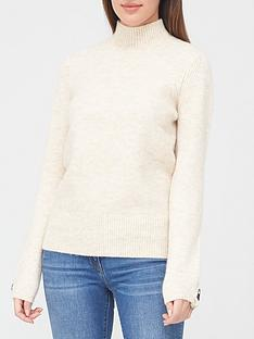 v-by-very-grown-on-neck-button-cuff-jumper-ivory