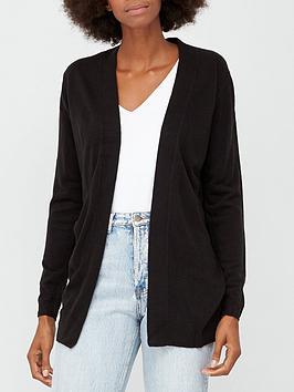 v-by-very-value-super-soft-stitch-detail-edge-to-edge-cardi-black