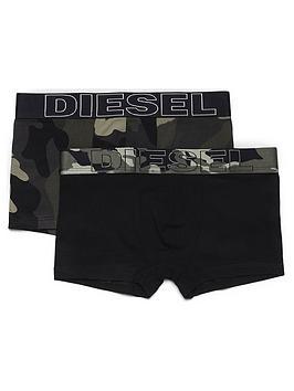 Diesel Diesel Boys 2 Pack Camo Print Boxer - Multi Picture