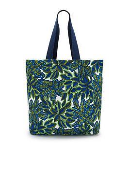 Pour Moi Pour Moi Canvas Beach Bag - Multi Picture
