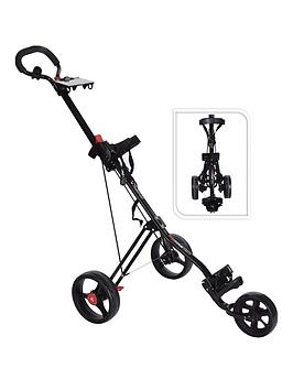 Fast Fold   Trimaster Golf Trolley Black
