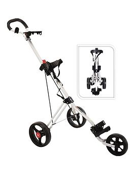Fast Fold   Trimaster Golf Trolley White