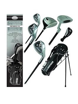 Go Golf Go Golf Go Junior Web Golf Box Set Charcoal Ages 13-16 Picture