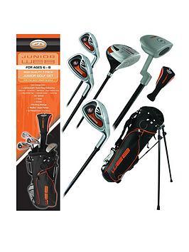 Go Golf Go Golf Go Junior Web Golf Box Set Orange Ages 6-8 Picture
