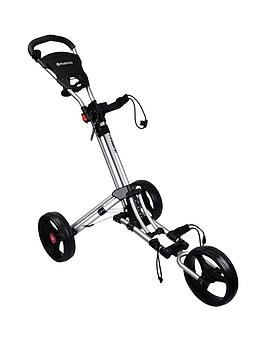 Fast Fold    Trike 3 Wheel Golf Trolley Silver