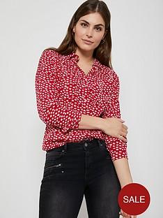 mint-velvet-poppy-print-blouse-red