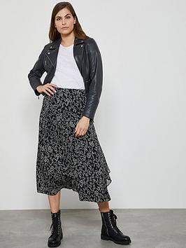 Mint Velvet Mint Velvet Jessica Ruffle Midi Skirt - Black Picture