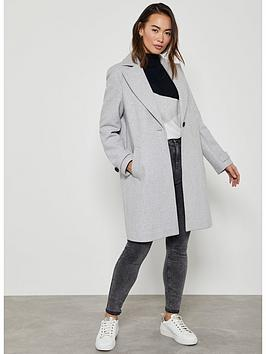 Mint Velvet Mint Velvet Boyfriend Coat - Grey Picture