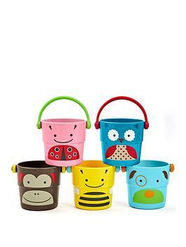 Skip Hop Skip Hop Zoo Stack & Pour Buckets Picture