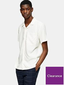 topman-eco-revere-collar-shirt-off-white
