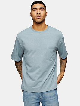Topman Topman Oversized T-Shirt - Blue Picture