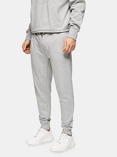 topman-marl-joggers-grey