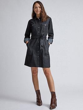 Dorothy Perkins Dorothy Perkins Safari Shirt Dress - Black Picture