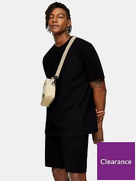 topman-ribbed-t-shirt-black