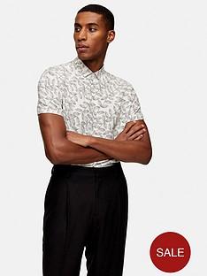 topman-short-sleeve-dot-leaf-shirt-off-white