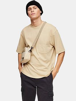 Topman Topman Oversized T-Shirt - Stone Picture