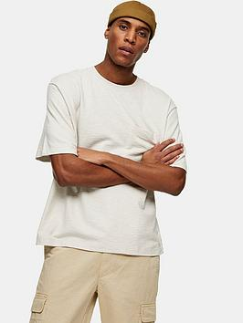 Topman Topman Oversized T-Shirt - Off White Picture