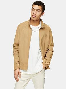 topman-harrington-jacket-tan