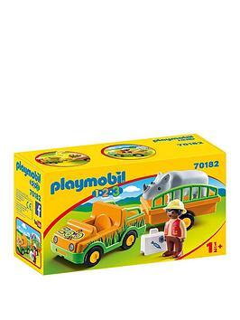 playmobil-playmobil-123-zoo-vehicle-with-rhinoceros