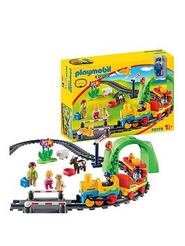 PLAYMOBIL Playmobil 1.2.3 My First Train Set Picture