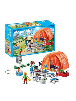 PLAYMOBIL Playmobil Playmobil Family Fun Family Camping Trip With Large  ... Picture