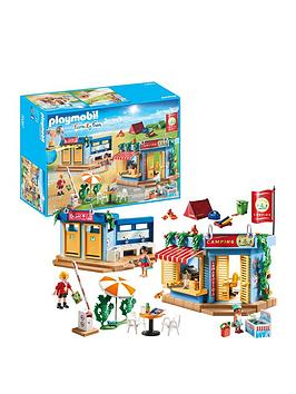 PLAYMOBIL Playmobil Family Fun Large Campground Picture