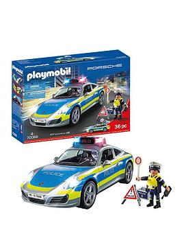 PLAYMOBIL Playmobil Porsche 911 Carerra 4S Police Picture