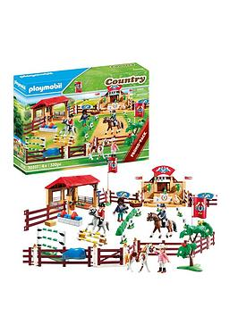 PLAYMOBIL Playmobil Playmobil Country Horse Riding Tournament Picture