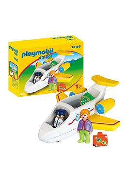 PLAYMOBIL Playmobil 1.2.3 Airplane With Passengers Picture