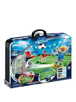 PLAYMOBIL Playmobil Playmobil City Life Take Along Soccer Arena Picture