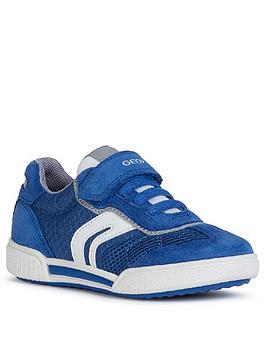 Geox Geox Boys Poseido Strap Trainers - Royal Blue Picture