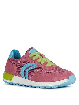 Geox Geox Girls Alben Lace Up Trainer Picture