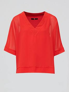 v-by-very-v-neck-batwing-top-red