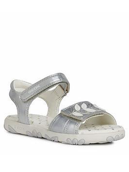 Geox Geox Girls Haiti Sandals - Silver Picture