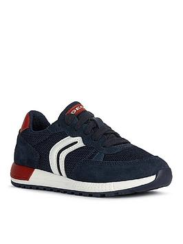 Geox Geox Boys Alben Lace Up Trainer Picture