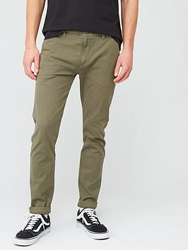 Levi's Levi'S Slim Taper Fit Chinos - Bunker Olive Picture
