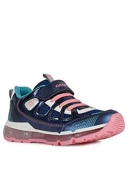 Geox Geox Girls Android Trainers - Navy Picture
