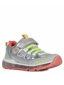 Geox Geox Girls Android Trainers - Silver Picture