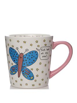 Very Charlotte Reed May The Thoughts Be With You Butterfly Mug Picture