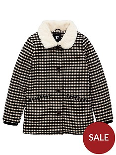 v-by-very-girlsnbsphoundstooth-faux-fur-collar-and-lined-coat-multi
